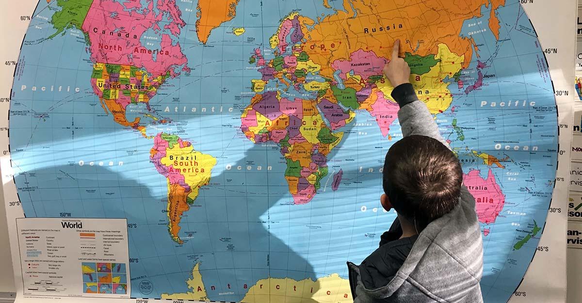 geografia a scuola