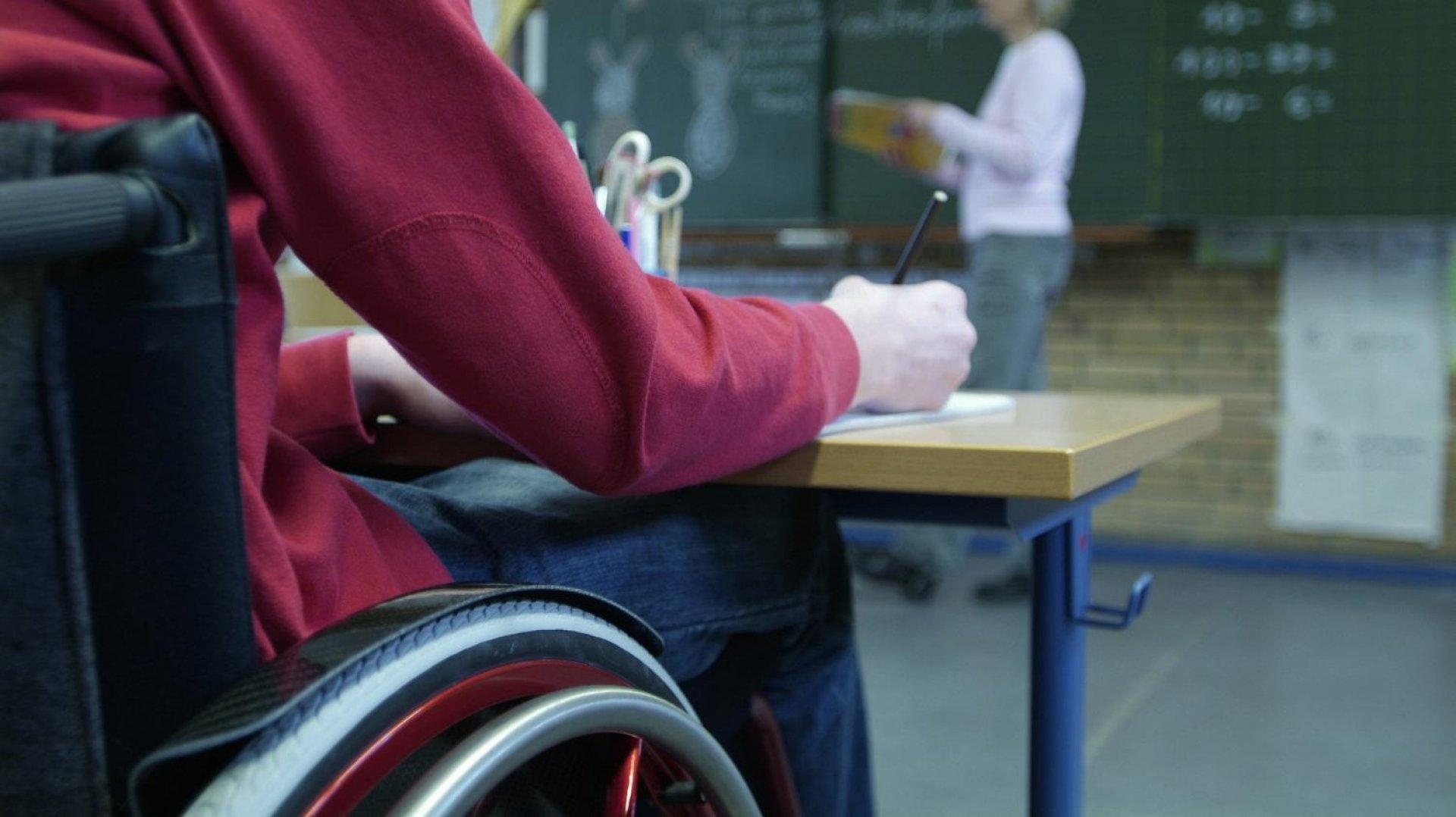 alunni disabili in classe